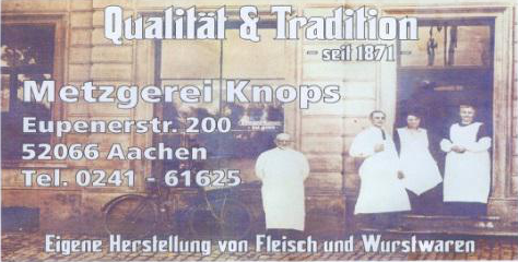 Metzgerei Knops - Qualität und Tradition